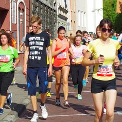 11th Danske Bank Vilnius Marathon - Diana Tomickyte (10051), Vita Semionovaite (11756)