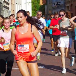 11th Danske Bank Vilnius Marathon - Saulius Cyplis (11713), Agne Kotryna Jurgeleviciute (12667)