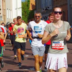 11th Danske Bank Vilnius Marathon - Gediminas Kinderis (45), Saulius Cyplis (11713), Rūta Kinderytė (30304), Karolis Mačiulis (30578)