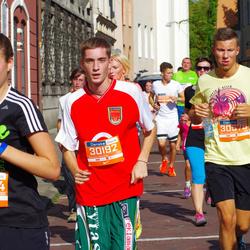 11th Danske Bank Vilnius Marathon - Linas Venskūnas (30192), Rūta Kinderytė (30304), Karolis Mačiulis (30578)