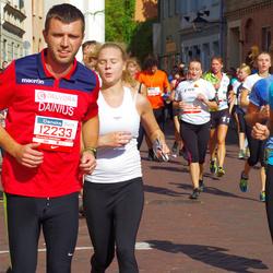 11th Danske Bank Vilnius Marathon - Aukse Mazgelyte (10293), Dainius Adomavicius (12233)