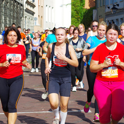 11th Danske Bank Vilnius Marathon - Oksana Paškeviciene (10357), Deimante Lina Paškeviciute (10358), Amelija Melech (30076)