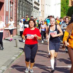 11th Danske Bank Vilnius Marathon - Oksana Paškeviciene (10357), Deimante Lina Paškeviciute (10358)