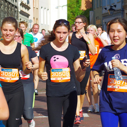 11th Danske Bank Vilnius Marathon - Gintarė Gaidelionytė (30507), Monika Glinskytė (30509), Assel Kaparova (30671)