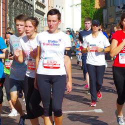 11th Danske Bank Vilnius Marathon - Kristina Mikaite (11109), Raminta Levandraityte (21074)