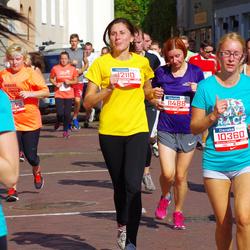 11th Danske Bank Vilnius Marathon - Justas Lukasevicius (10360), Akvile Stoškute-Bendoriene (11488), Daiva Maldžiute (12110)