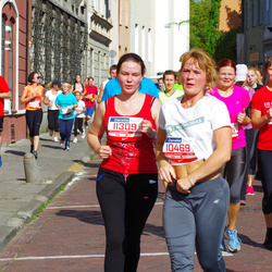 11th Danske Bank Vilnius Marathon - Meilute Baškiene (10469), Lauryna Napušyte (11309)