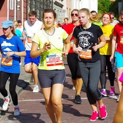 11th Danske Bank Vilnius Marathon - Indre Lukoseviciute (10818), Gabrielė Kisieliūtė (31190)