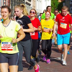 11th Danske Bank Vilnius Marathon - Indre Lukoseviciute (10818), Darius Bagdonas (30015), Jolanta Rimkuvienė (30993)