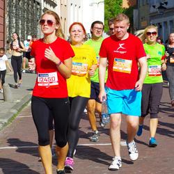 11th Danske Bank Vilnius Marathon - Dovile Statkeviciute (12450), Darius Bagdonas (30015)