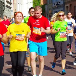 11th Danske Bank Vilnius Marathon - Dovile Statkeviciute (12450), Darius Bagdonas (30015), Jolanta Rimkuvienė (30993)