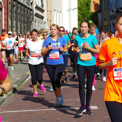 11th Danske Bank Vilnius Marathon - Lina Peciulyte (10332), Vita Vinickyte (11003), Domantė Sakalauskaitė (30260)