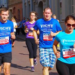 11th Danske Bank Vilnius Marathon - Vaidas Pažusys (10484), Vaidas Ališauskas (10485), Viktorija Stretovic (11863)