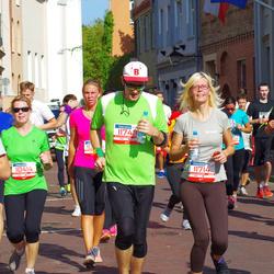 11th Danske Bank Vilnius Marathon - Rolanda Paulauskiene (10414), Ugne Cyplyte (11714), Saulius Pacesa (11749)