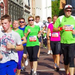 11th Danske Bank Vilnius Marathon - Rolanda Paulauskiene (10414), Greta Šukyte (10725), Saulius Pacesa (11749)