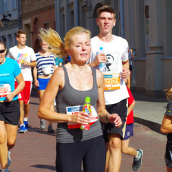 11th Danske Bank Vilnius Marathon - Alma Vidžiuniene (11836), Andrius Rutkauskas (31252)
