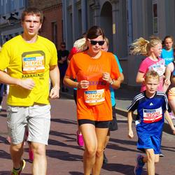 11th Danske Bank Vilnius Marathon - Antanas Barcys (10250), Ignas Barcys (10251), Audrius Valavičius (31025), Lina Grinevičiūtė (31027)