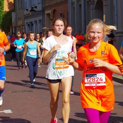 11th Danske Bank Vilnius Marathon - Santaute Žinyte (12386), Deimante Kizalaite (12824)