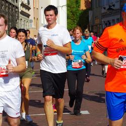 11th Danske Bank Vilnius Marathon - Neringa Švagždiene (10259), Arunas Kelmelis (10994), Giedrius Kizala (12821)