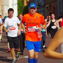 11th Danske Bank Vilnius Marathon - Arunas Kelmelis (10994), Edgaras Lucinskas (11463), Giedrius Kizala (12821)