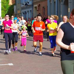 11th Danske Bank Vilnius Marathon - Markas Plineris (6548), Saule Demidenkaite (11340), Laima Gvazdauskaite (11343), Ana Pliner (12049), Antony Zappone (12050), Vilius Šiauciunas (12086)