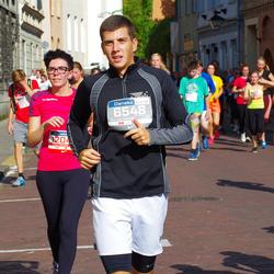 11th Danske Bank Vilnius Marathon - Markas Plineris (6548), Ana Pliner (12049)