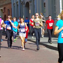 11th Danske Bank Vilnius Marathon - Juliana Seržantovic (10611), Jurgita Žilvinskaite (10777), Gabriele Narkute (20333), Mante Mikulenaite (20334)