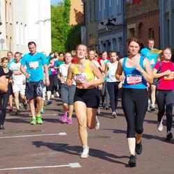 11th Danske Bank Vilnius Marathon - Dmitrijus Moskaliovas (11073), Žana Kraucenkiene (11222), Diana Gružauskaite (20613), Indrė Venslovaitė (30169), Judita Cicėnaitė (30634)