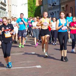 11th Danske Bank Vilnius Marathon - Dmitrijus Moskaliovas (11073), Žana Kraucenkiene (11222), Diana Gružauskaite (20613), Judita Cicėnaitė (30634)