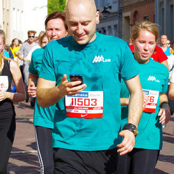 11th Danske Bank Vilnius Marathon - Karolis Šileika (11503), Greta Obadauskaite (11506), Gabija Žulyte (21012)