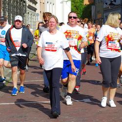 11th Danske Bank Vilnius Marathon - Rita Misiene (11142), Gintare Boguševiciene (11187), Dominykas Smaliukas (12218), Rimas Endriukaitis (12658)