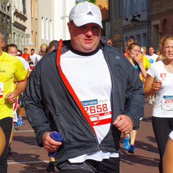 11th Danske Bank Vilnius Marathon - Žygimantas Šarmavicius (10444), Rimas Endriukaitis (12658), Medeine Žigilejute (21786)