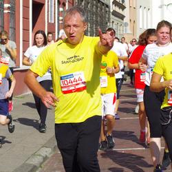 11th Danske Bank Vilnius Marathon - Lina Valioniene (10438), Žygimantas Šarmavicius (10444), Adomas Laurinavicius (11818)
