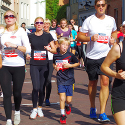 11th Danske Bank Vilnius Marathon - Anna Baranova (11548), Vitoldas Vidžiunas (12826), Jolita Hochleitmer-Vidžiuniene (12827)