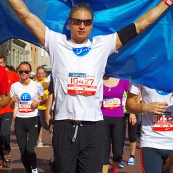 11th Danske Bank Vilnius Marathon - Milda Lomsargiene (10274), Antanas Steponavicius (10427)