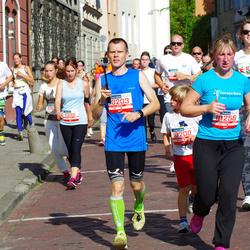 11th Danske Bank Vilnius Marathon - Robert Rozej (10203), Solveiga Mikalauskaite (10256), Natalja Derkac (11298)