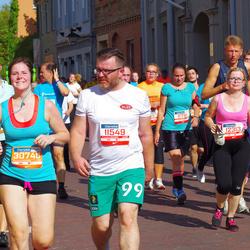 11th Danske Bank Vilnius Marathon - Ricardas Daunoravicius (11549), Rita Kernagyte (11781), Rasa Strolyte (12313), Silvija Andrijauskaitė (30221), Akvilė Sabaliauskaitė (30740)