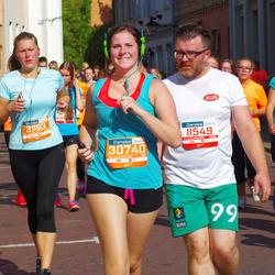 11th Danske Bank Vilnius Marathon - Ricardas Daunoravicius (11549), Ieva Marazaite (12020), Akvilė Sabaliauskaitė (30740), Birutė Dzidolikaitė (31193)