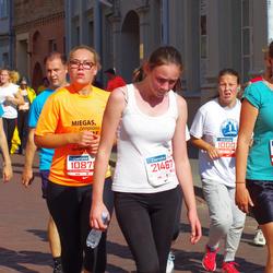 11th Danske Bank Vilnius Marathon - Raminta Šoliunaite (10878), Alina Stimburyte (21467)