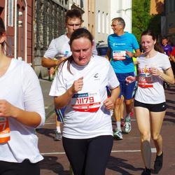 11th Danske Bank Vilnius Marathon - Ilona Kurelaityte (10739), Gintautas Šiškus (10764), Jolita Ragaliauskaite (11179)