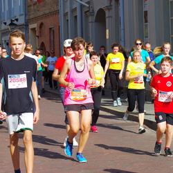 11th Danske Bank Vilnius Marathon - Daniel Marševski (20136), Laura Ambrazaite (20588), Jurgita Kazarauskaitė (31038)