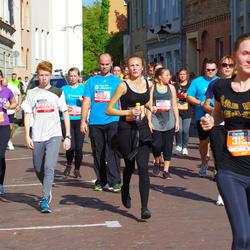 11th Danske Bank Vilnius Marathon - Aleksandras Voitechovskis (10182), Elena Daugelaite (11612), Aleksas Litvinas (12720), Agne Pranckute (31990)