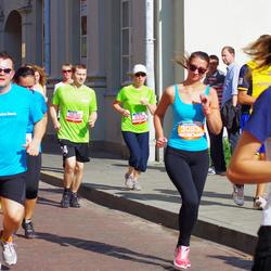 11th Danske Bank Vilnius Marathon - Jurgita Butrimiene (11325), Nerijus Navarskas (11630), Eglė Šiaulytė (30931)