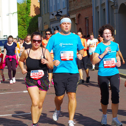 11th Danske Bank Vilnius Marathon - Giedrius Geciauskas (11521), Giedre Geciauskiene (11928), Jurgita Biliuviene (12423)