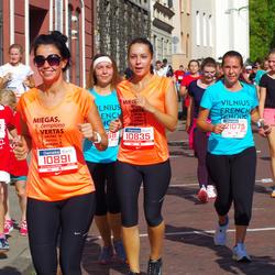 11th Danske Bank Vilnius Marathon - Viktorija Bryzgalova (10835), Jelena Michailova (10891), Isabelle Dervieux (21075)