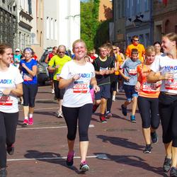 11th Danske Bank Vilnius Marathon - Ieva Miliauskaite (10727), Kamile Dijokaite (10914), Agne Sipaviciute (12183)