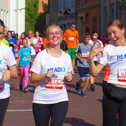 11th Danske Bank Vilnius Marathon - Ieva Miliauskaite (10727), Jekaterina Katasonova (10728), Agne Sipaviciute (12183)