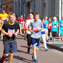11th Danske Bank Vilnius Marathon - Lina Zukauskiene (12008), Mindaugas Zukauskas (12009), Kajus Andrejevas (12714)