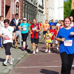 11th Danske Bank Vilnius Marathon - Lina Zukauskiene (12008), Šarunas Stankevicius (12553), Medeine Stankeviciute (12554)