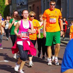 11th Danske Bank Vilnius Marathon - Rokas Žvirblis (10005), Vaida Budreikiene (11091), Lina Zukauskiene (12008), Mindaugas Zukauskas (12009), Karim Madaoui (21493)
